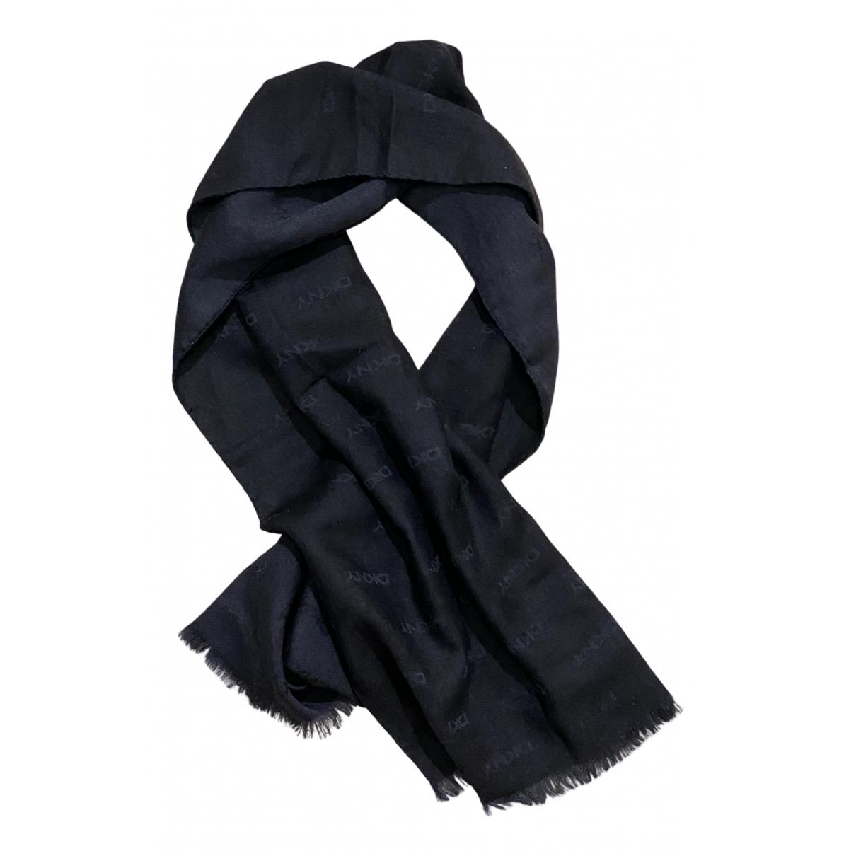 Dkny \N Schal in  Blau Wolle