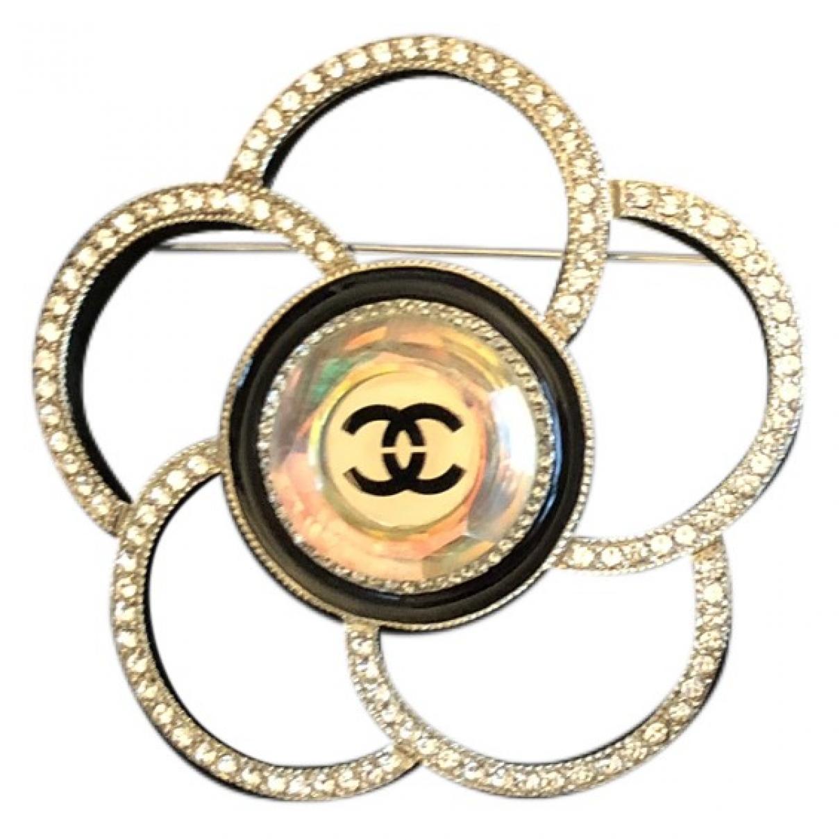 Broche Camelia en Metal Chanel