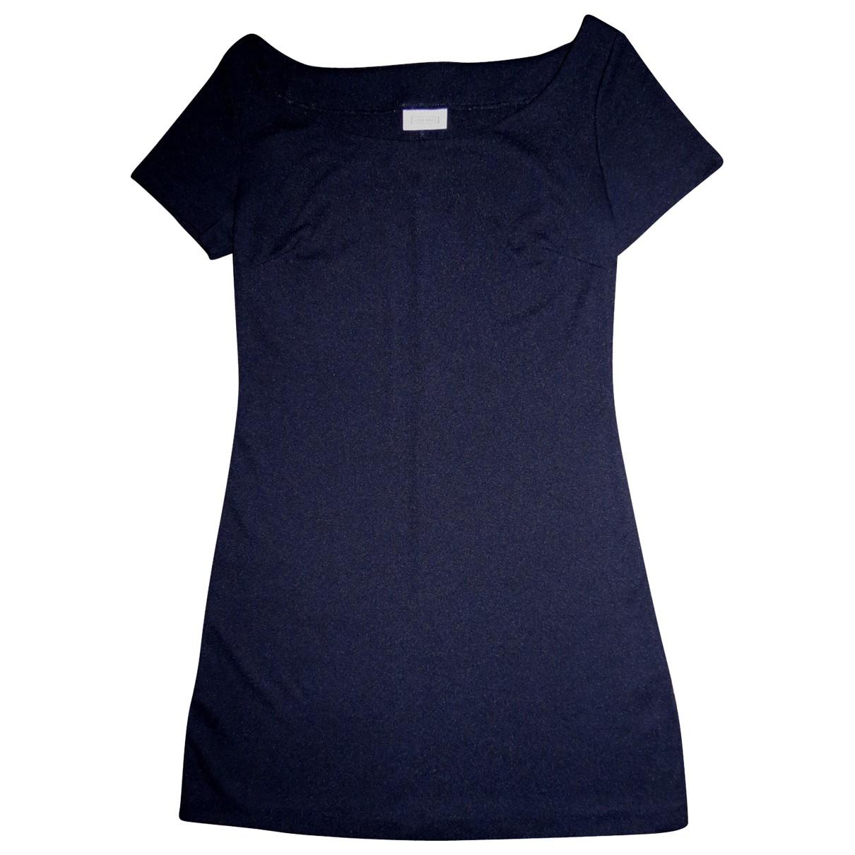 Stefanel \N Kleid in  Schwarz Polyester