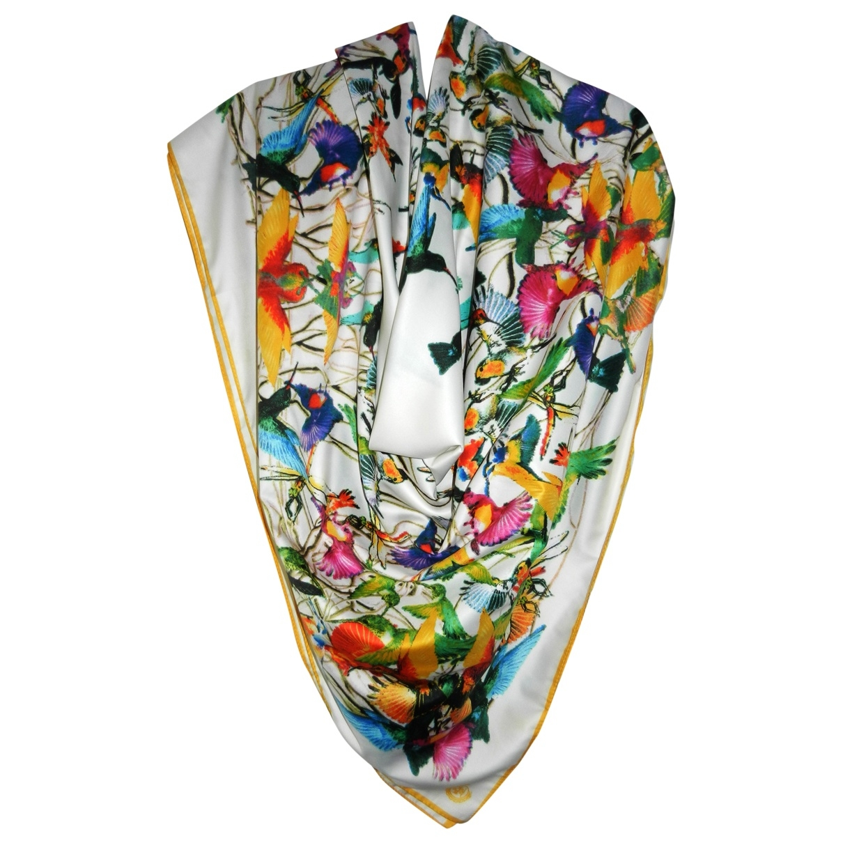 Non Signé / Unsigned \N Multicolour Silk Silk handkerchief for Women \N