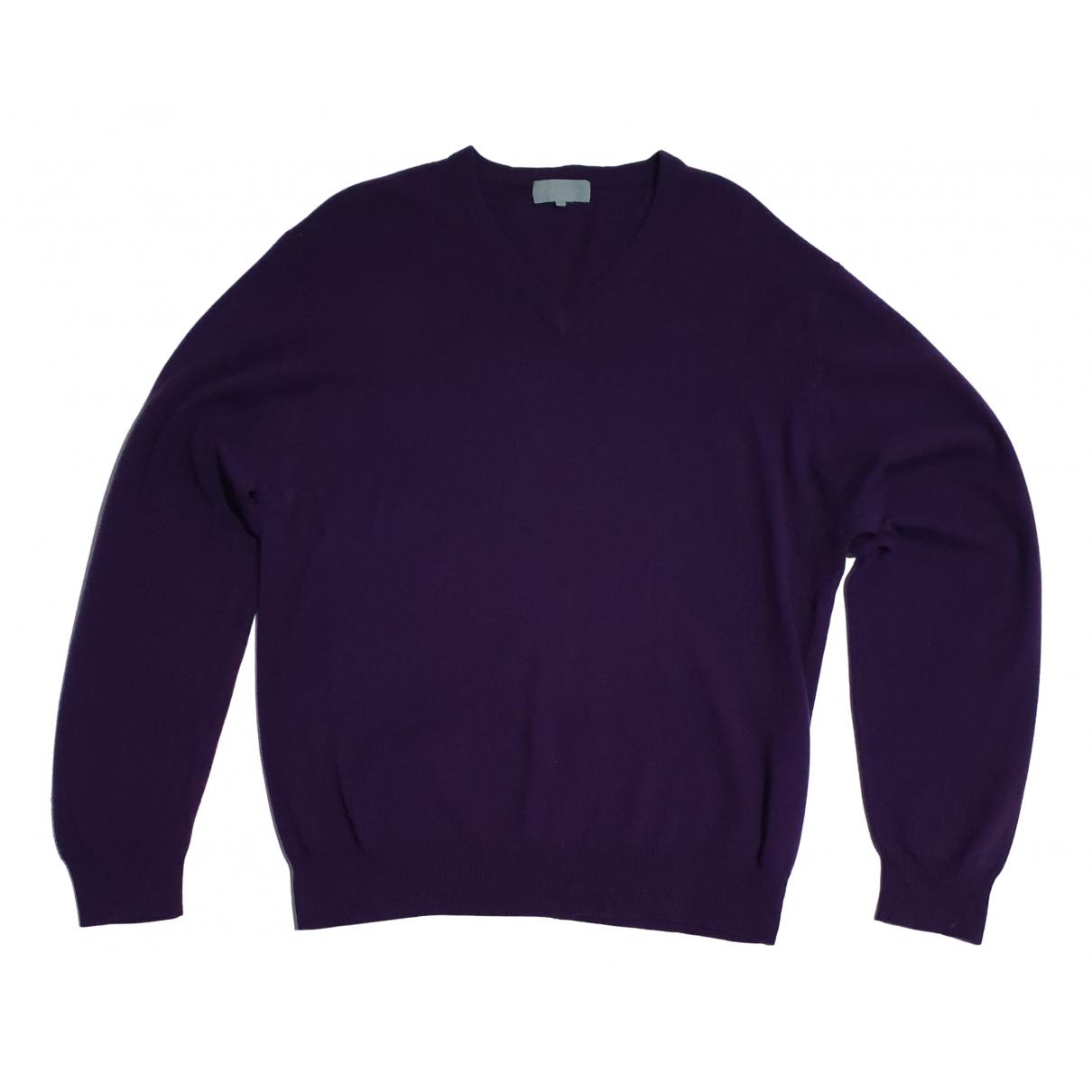 Lawrence Grey \N Pullover.Westen.Sweatshirts  in  Lila Kaschmir