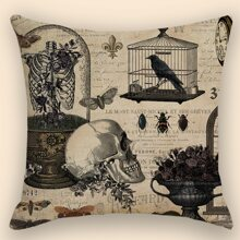 Halloween Pattern Cushion Cover Without Filler