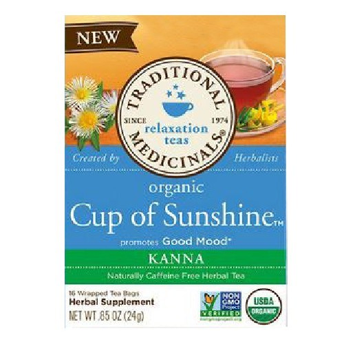 Organic Tea Cup of Sunshine 16 Bags by Traditional Medicinals Teas