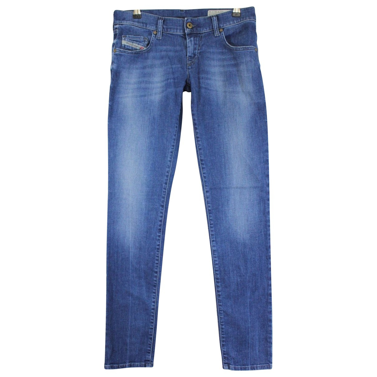 Diesel \N Blue Cotton Jeans for Women 29 US