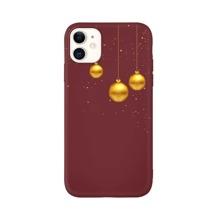 iPhone Schutzhuelle mit Weihnachten Ball Muster