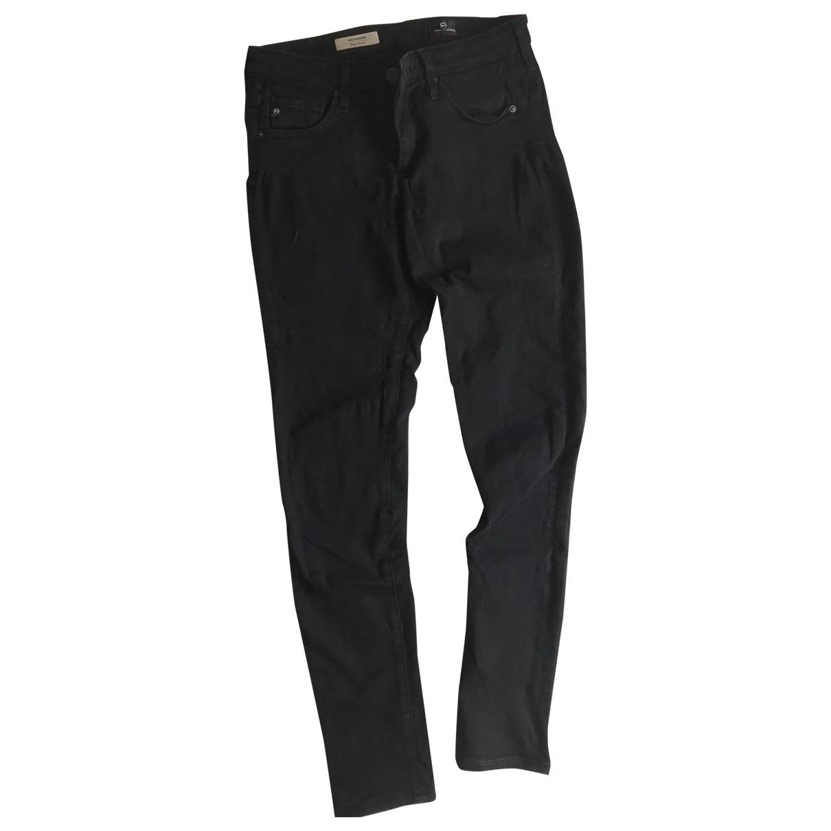 Ag Adriano Goldschmied \N Black Denim - Jeans Jeans for Women 26 US