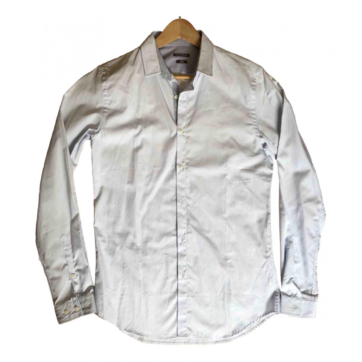 Ikks - Chemises   pour homme en coton - bleu