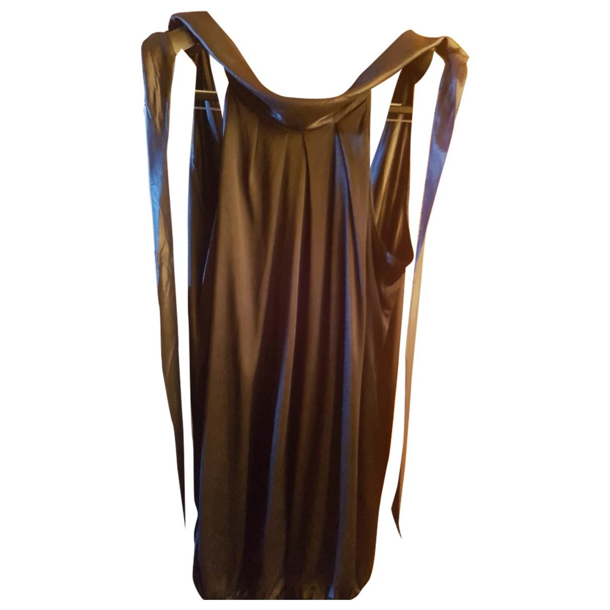 Diesel \N Kleid in  Schwarz Viskose
