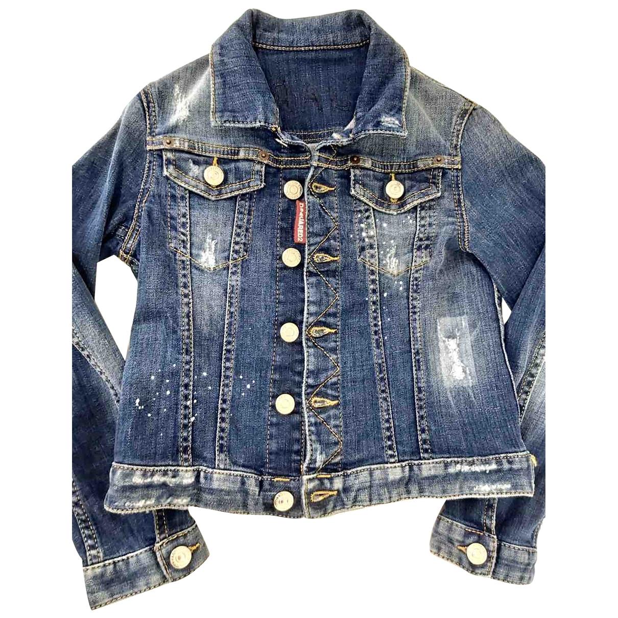 Dsquared2 \N Blue Denim - Jeans jacket & coat for Kids 8 years - up to 128cm FR