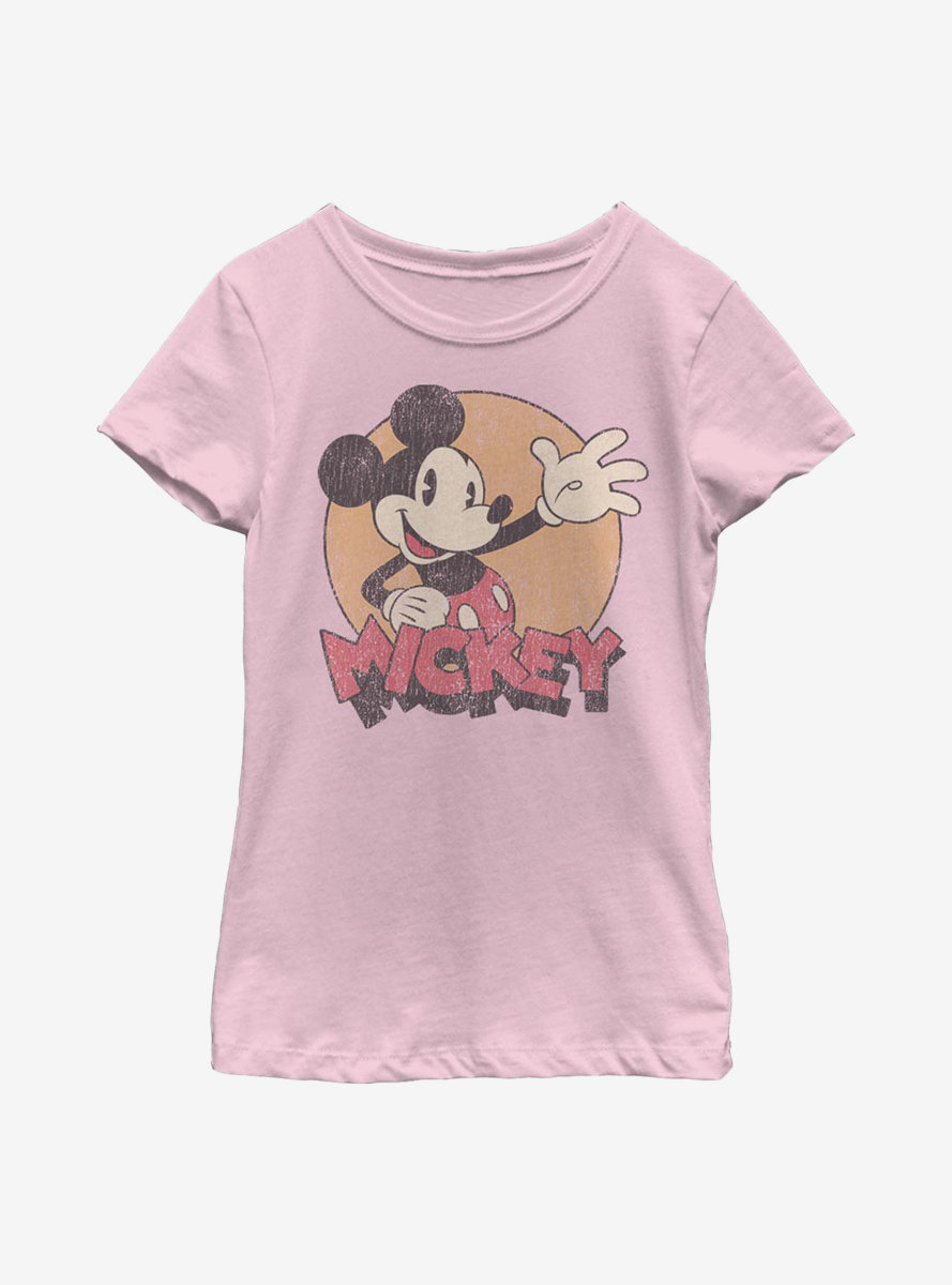 Disney Mickey Mouse Tried And True Youth Girls T-Shirt