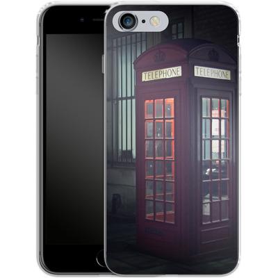 Apple iPhone 6s Plus Silikon Handyhuelle - London Calling 2 von Ronya Galka