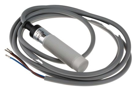 RS PRO 70mm Non Flush Mount Capacitive sensor, PNP-NO Output, 8 mm Detection Range, IP67