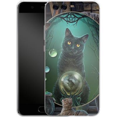 Huawei P10 Silikon Handyhuelle - Magical Cats Montage von Lisa Parker