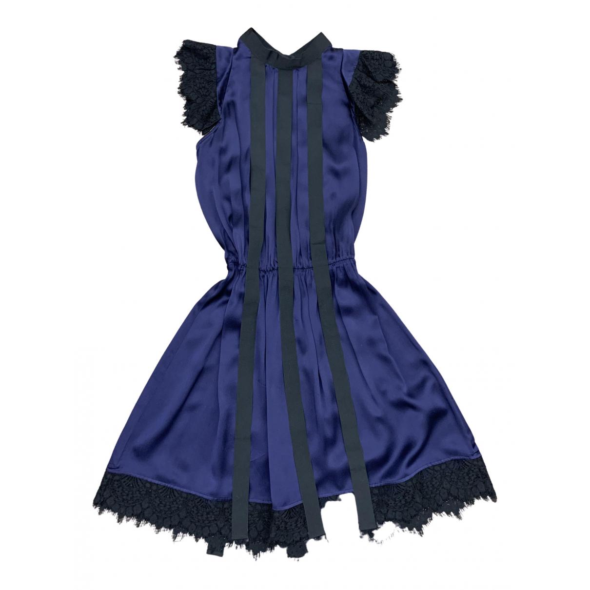 Mini vestido de Seda Just Cavalli