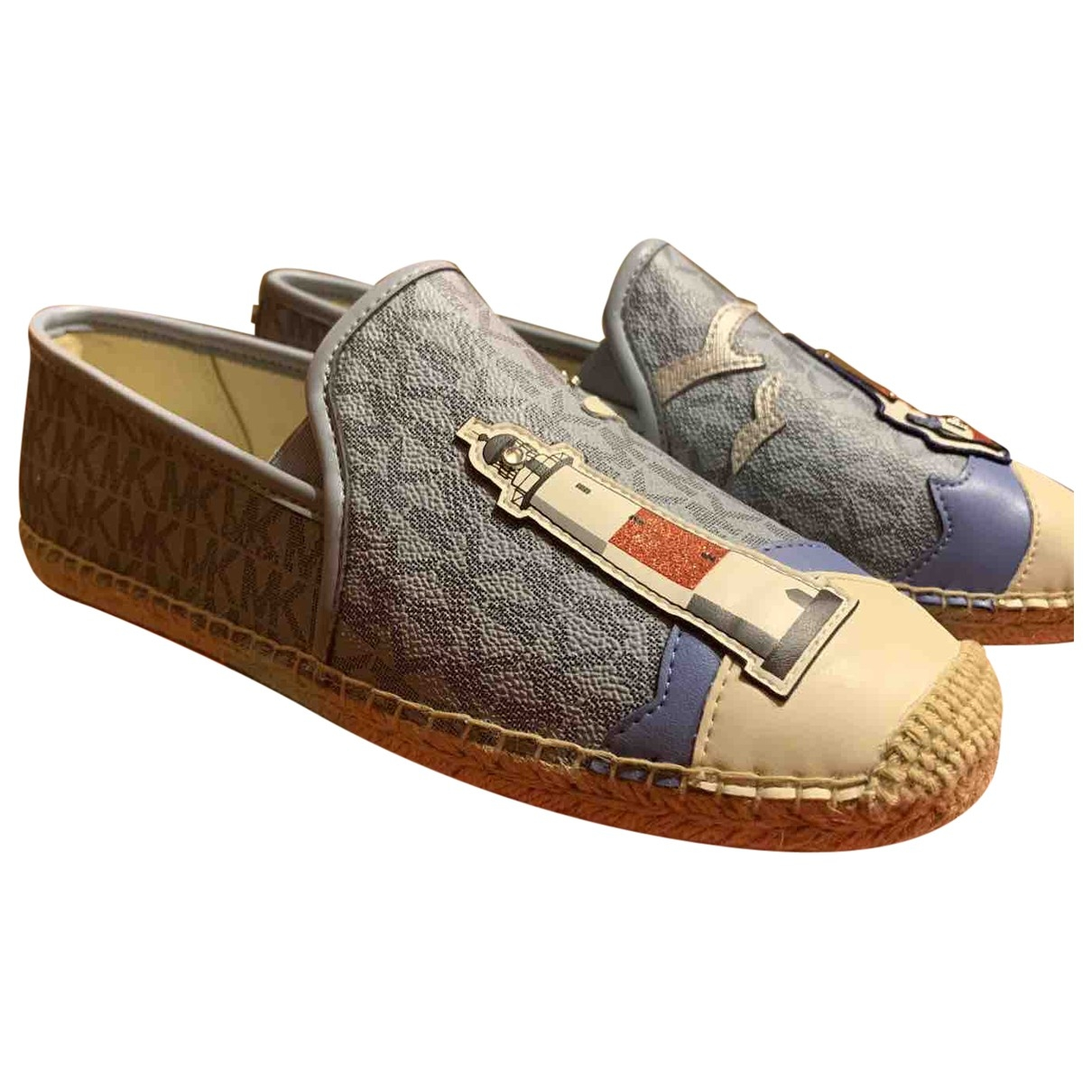 Michael Kors \N Blue Leather Espadrilles for Women 38 EU