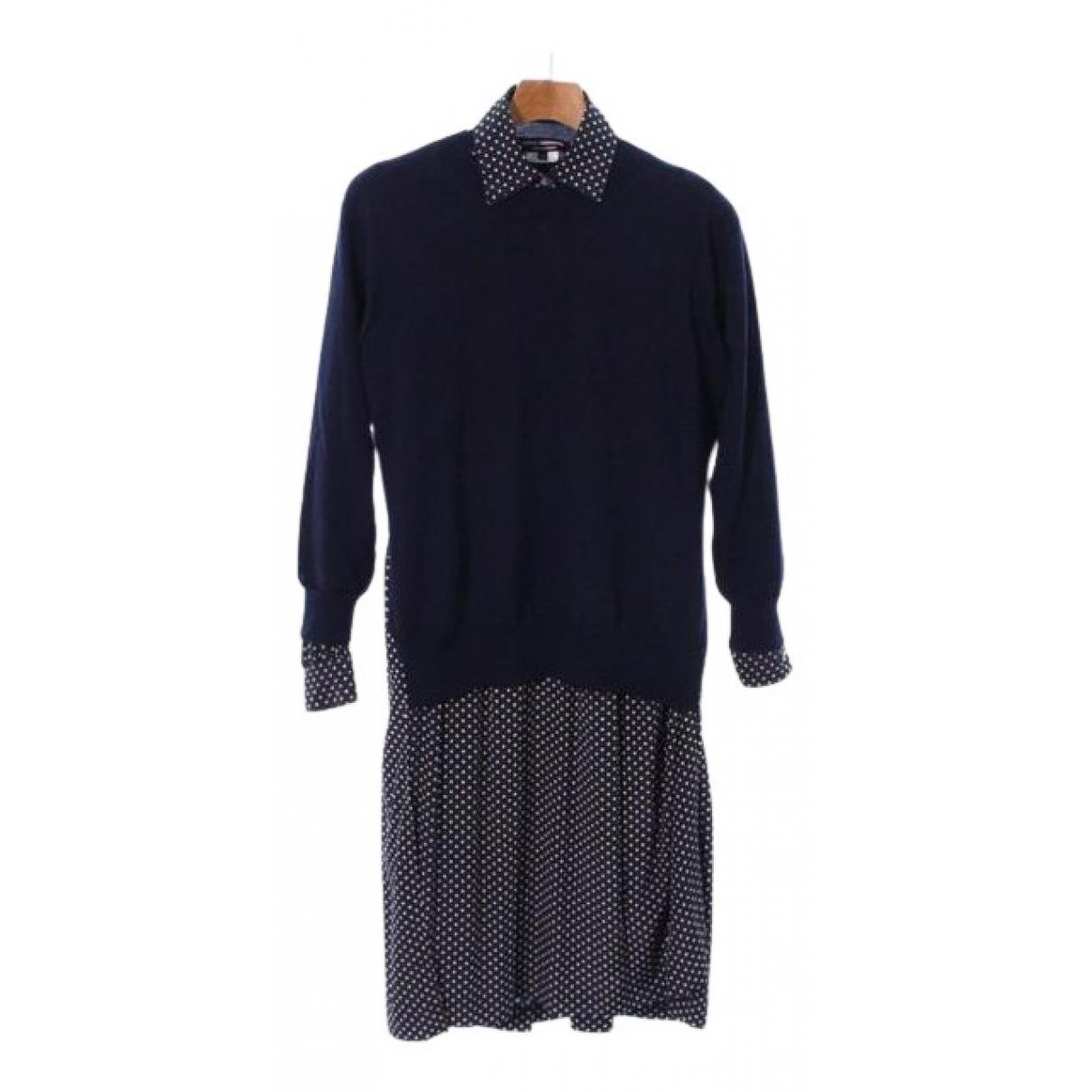 Junya Watanabe N Blue Wool dress for Women XS International