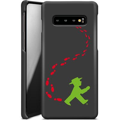 Samsung Galaxy S10 Plus Smartphone Huelle - AMPELMANN Footsteps  von AMPELMANN