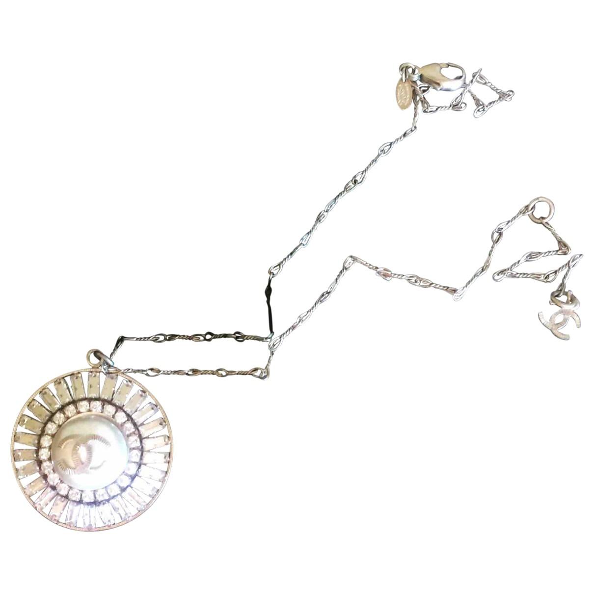 Chanel \N Gold Steel Long necklace for Women \N