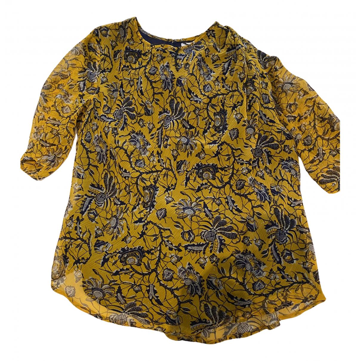 Isabel Marant - Top   pour femme en soie - jaune