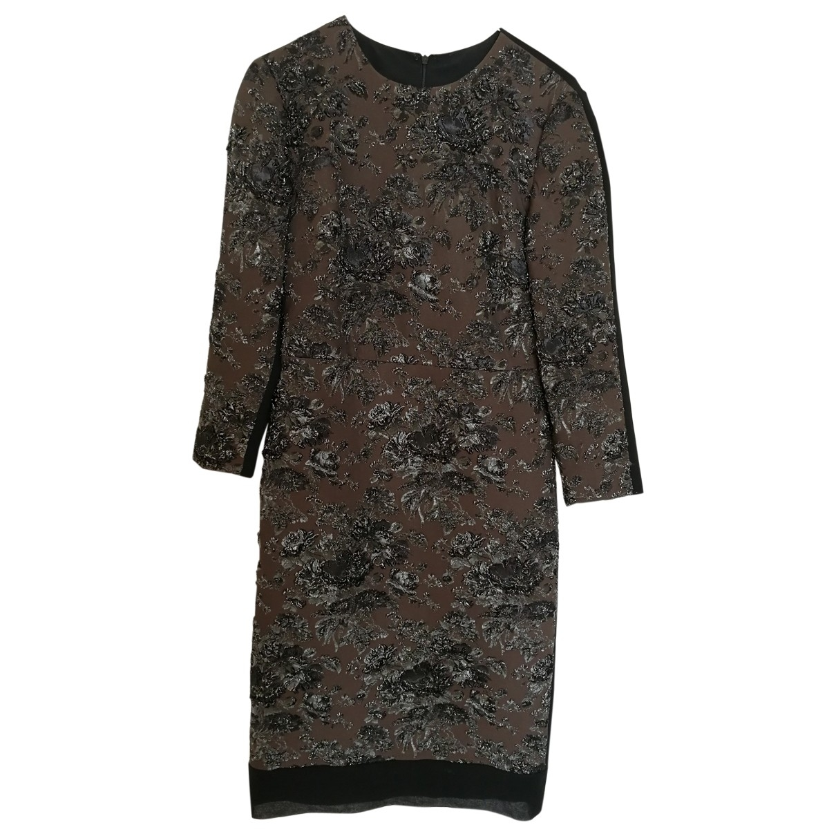 Non Signé / Unsigned \N Brown dress for Women 38 IT