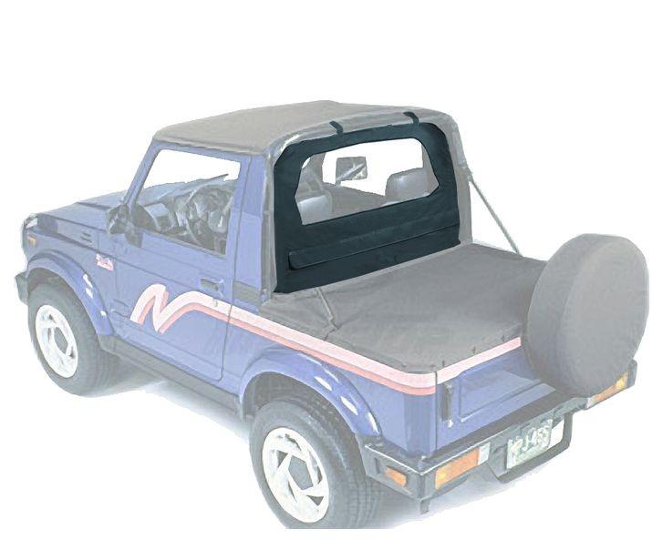 Bestop 80062-15 Black Denim Standard Windjammer Chevrolet Geo Tracker | Suzuki Sidekick 1995-1998