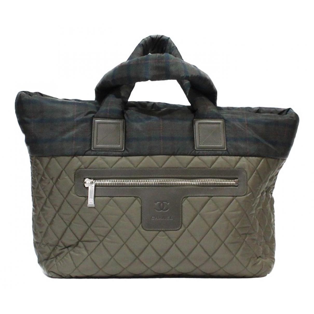 Chanel Coco Cocoon Khaki handbag for Women \N