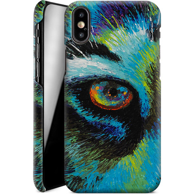 Apple iPhone X Smartphone Huelle - Will Cormier - Tiger Eyes von TATE and CO