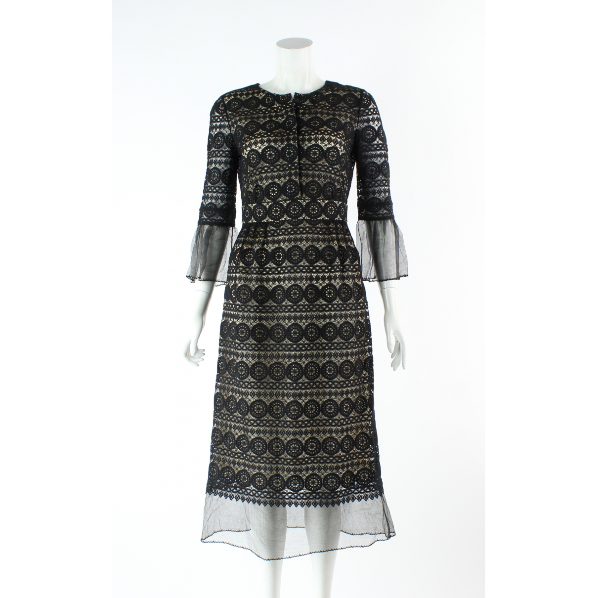 Vilshenko \N Black Cotton dress for Women 8 US