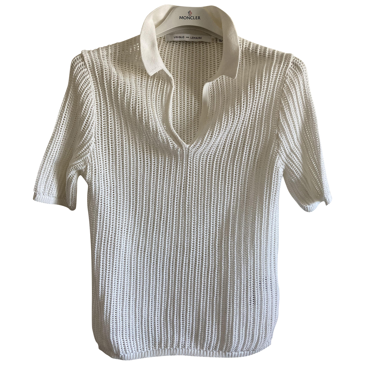 Lemaire X Uniqlo \N Top in  Weiss Baumwolle