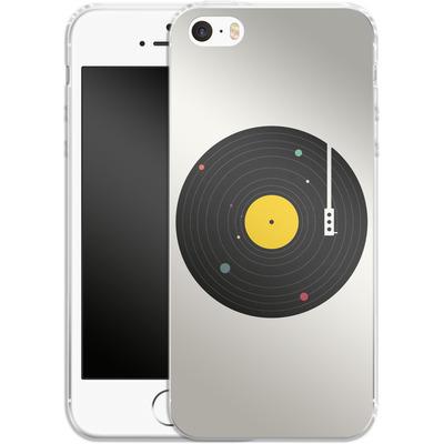 Apple iPhone 5 Silikon Handyhuelle - Music Everywhere von Florent Bodart