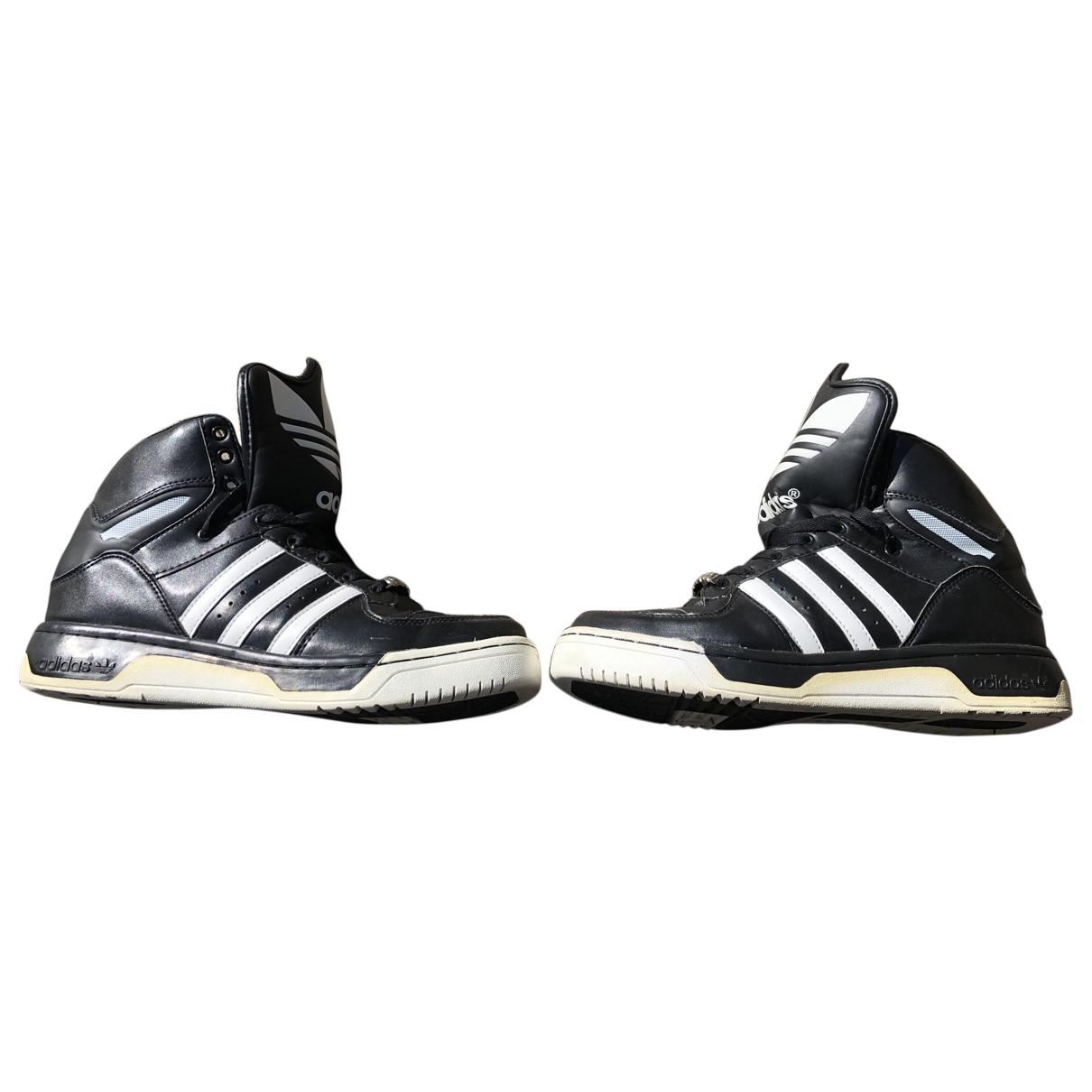 Deportivas de Cuero Jeremy Scott Pour Adidas