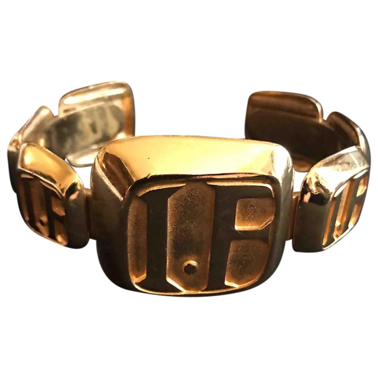 Ines De La Fressange Paris \N Armband in  Gold Metall