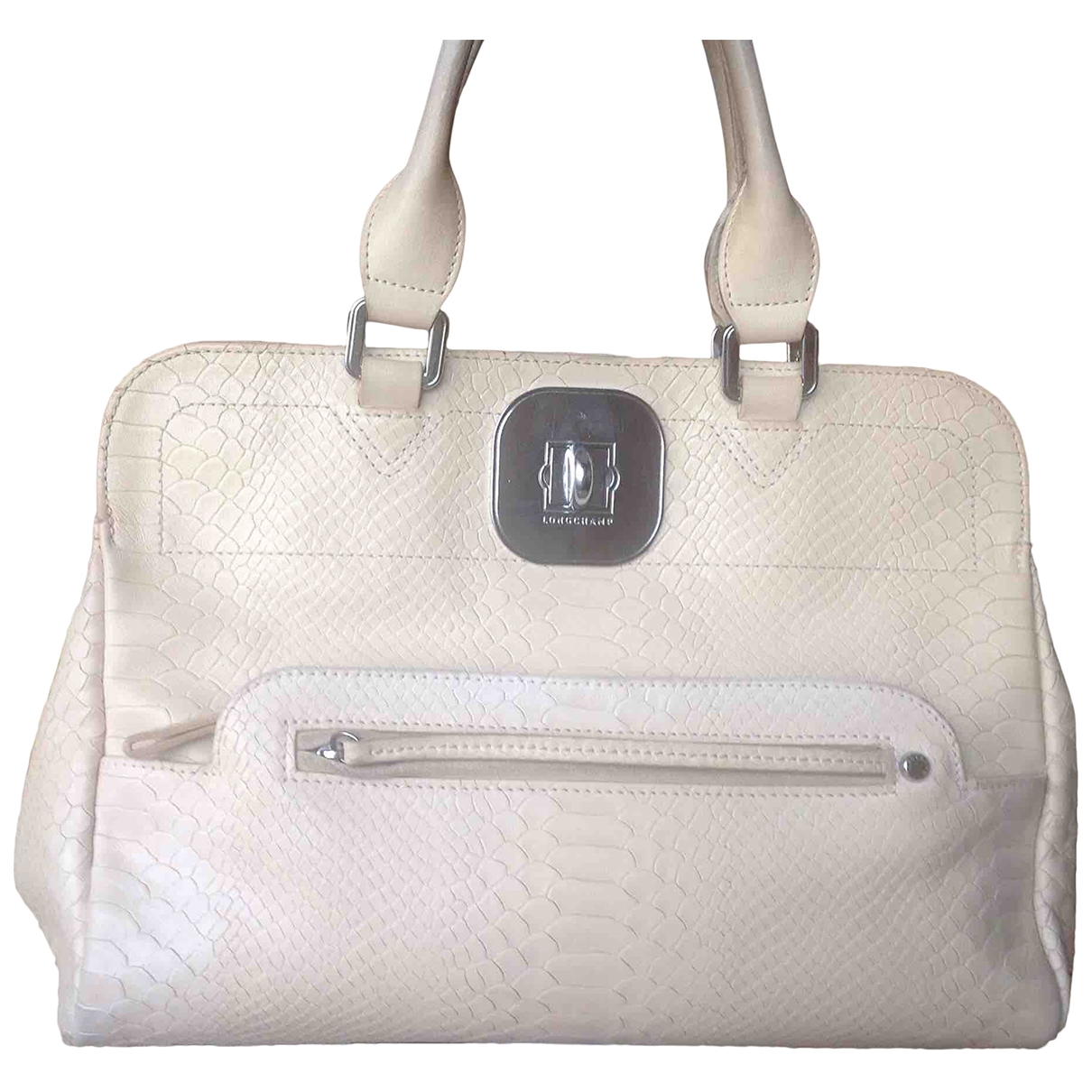 Longchamp Gatsby Beige Leather handbag for Women \N