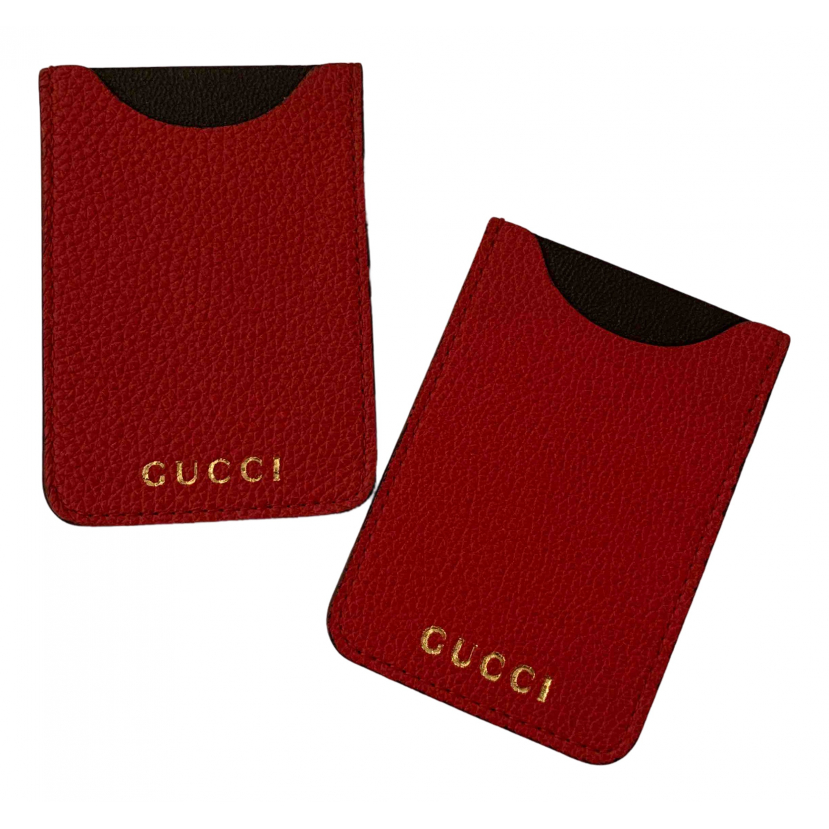 Gucci N Red Leather Purses, wallet & cases for Women N