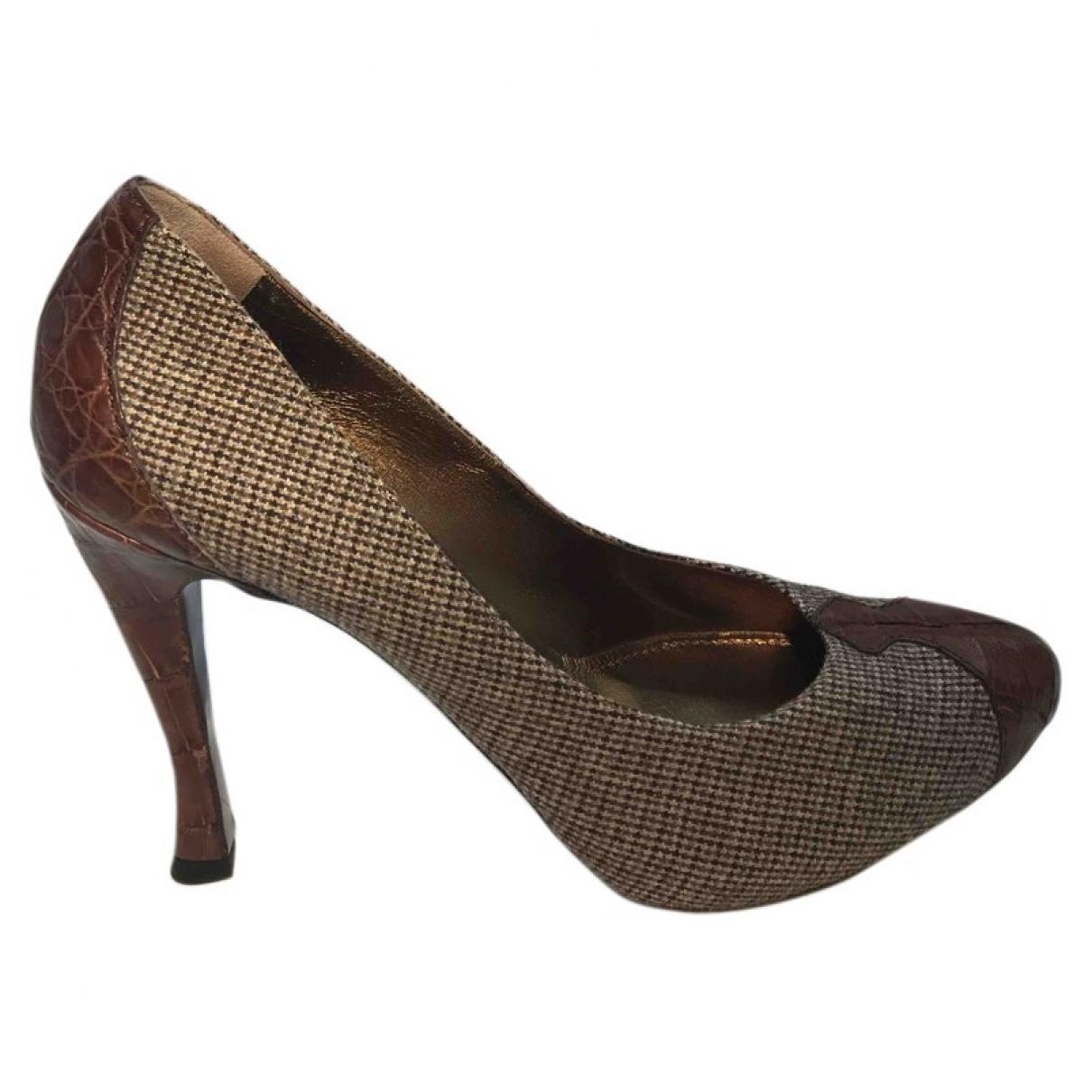 Bottega Veneta \N Multicolour Tweed Heels for Women 39.5 EU