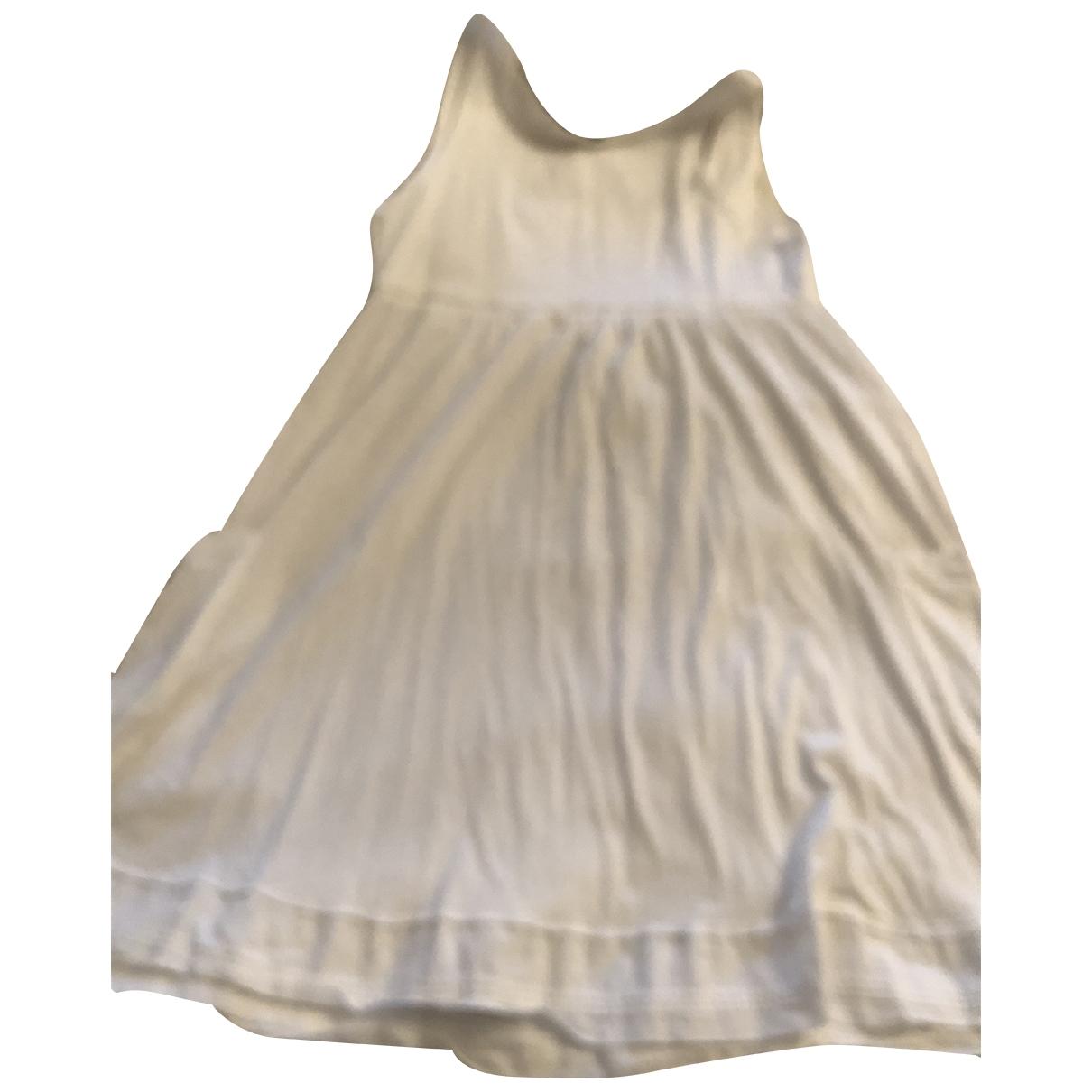 Burberry \N White Cotton dress for Women M International