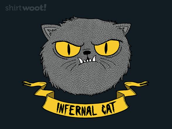 Infernal Cat T Shirt