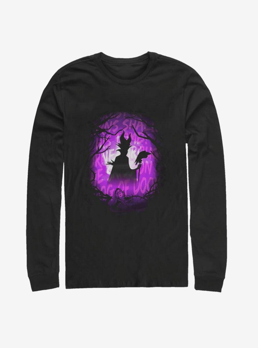 Disney Sleeping Beauty Maleficent Fog Of Doom Long-Sleeve T-Shirt