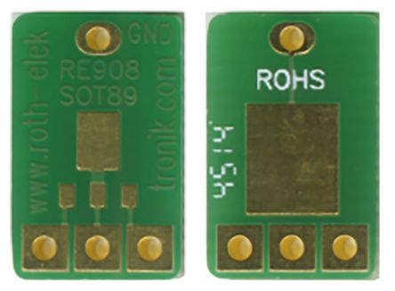 Roth Elektronik RE908, Double Sided Extender Board Adapter Adapter With Adaption Circuit Board 13.02 x 8.25 x 1.5mm