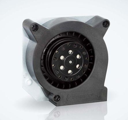 ebm-papst Centrifugal Fan 120.6 x 120.6 x 37mm, 40m³/h, 230 V ac AC (RL90 Series)