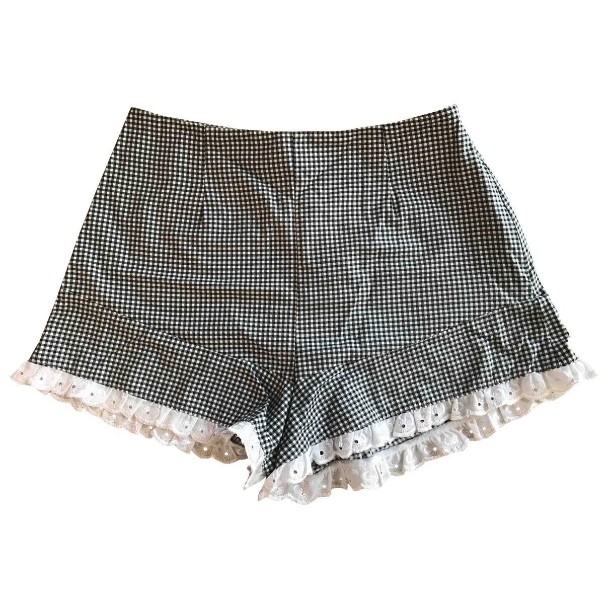 Reclaimed Vintage \N White Cotton Shorts for Women 6 UK