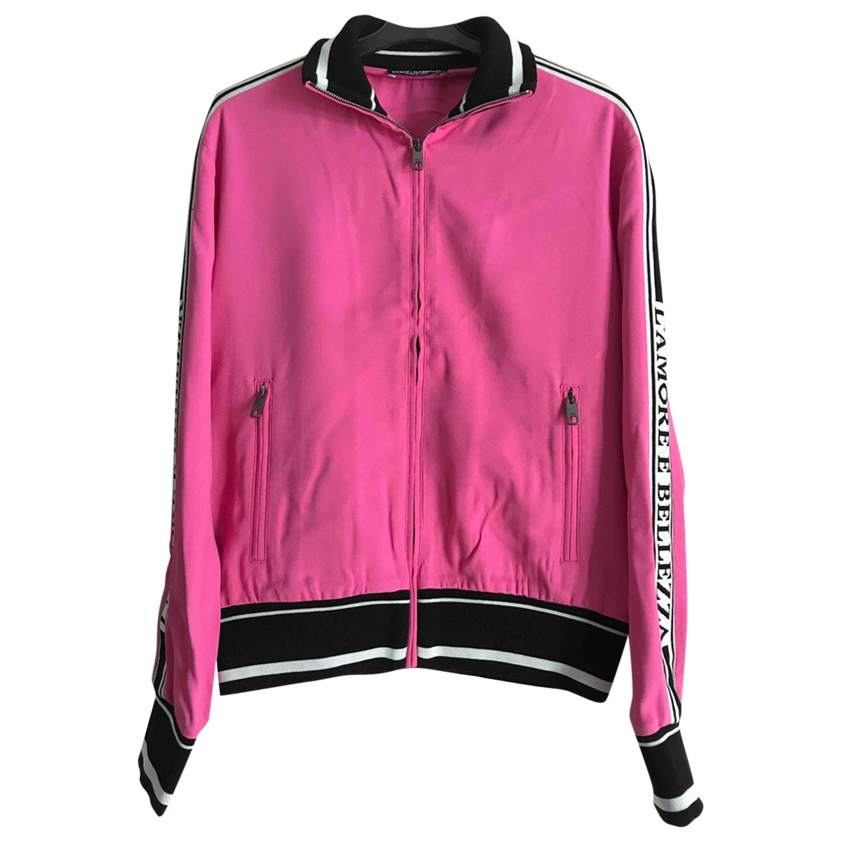 Dolce & Gabbana - Pull   pour femme - rose