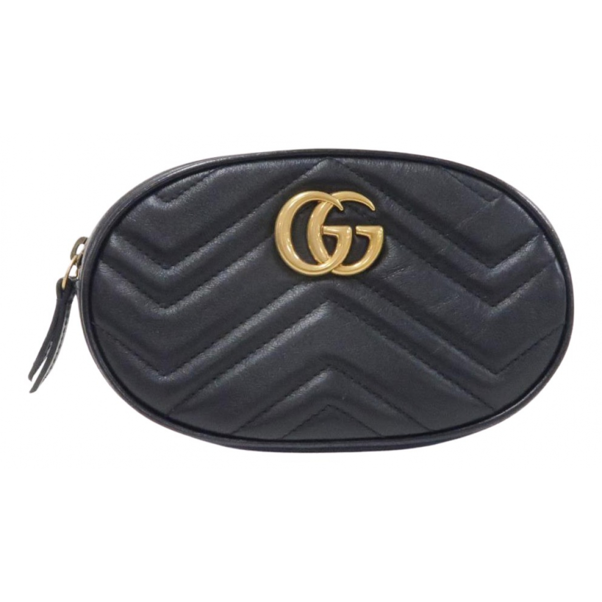Gucci Marmont Black Leather Clutch bag for Women N