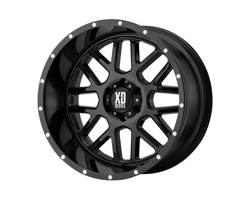 XD Series XD82029080300 XD820 Grenade Wheel 20x9 8x8x165.1 +0mm Gloss Black
