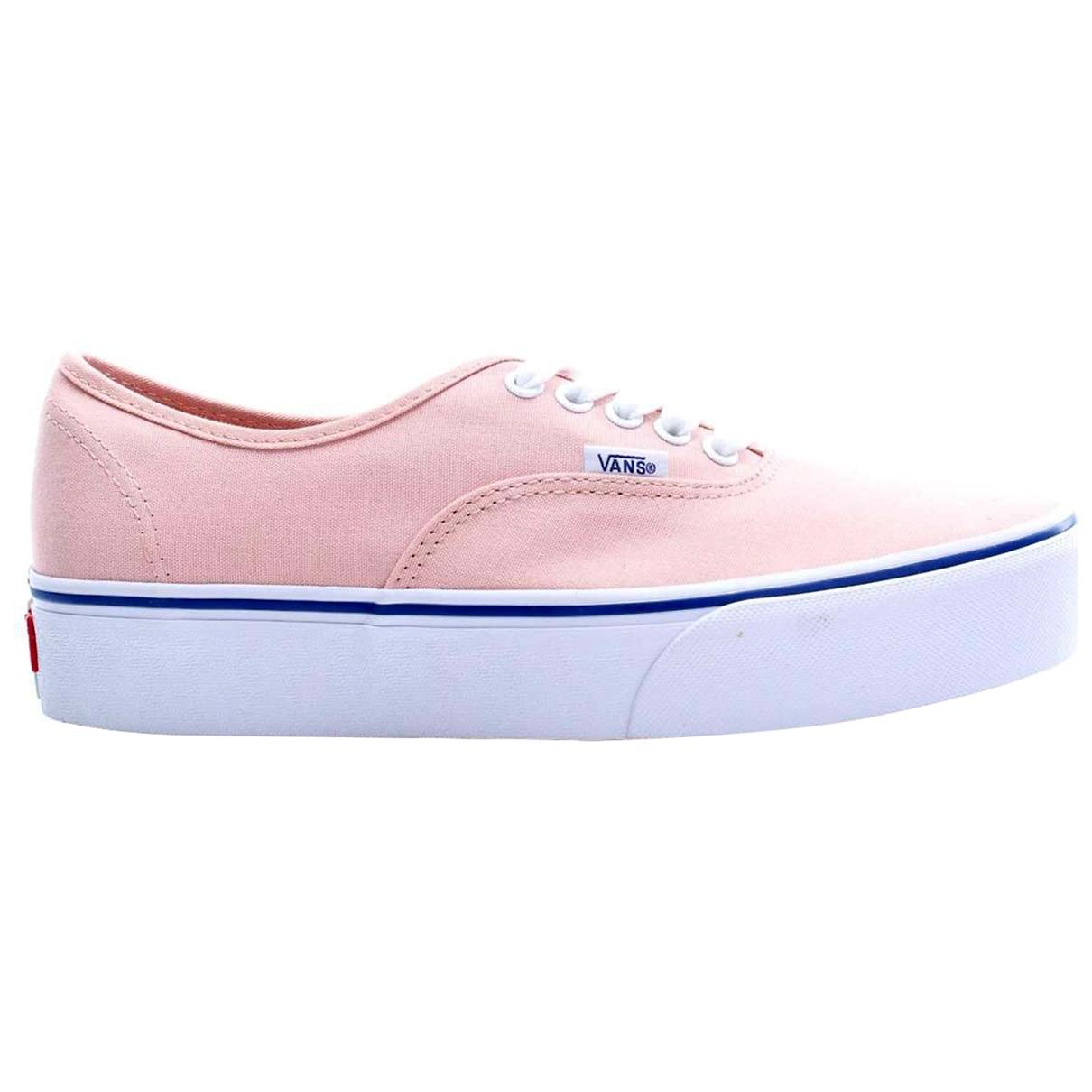 Vans - Baskets   pour femme en toile - rose