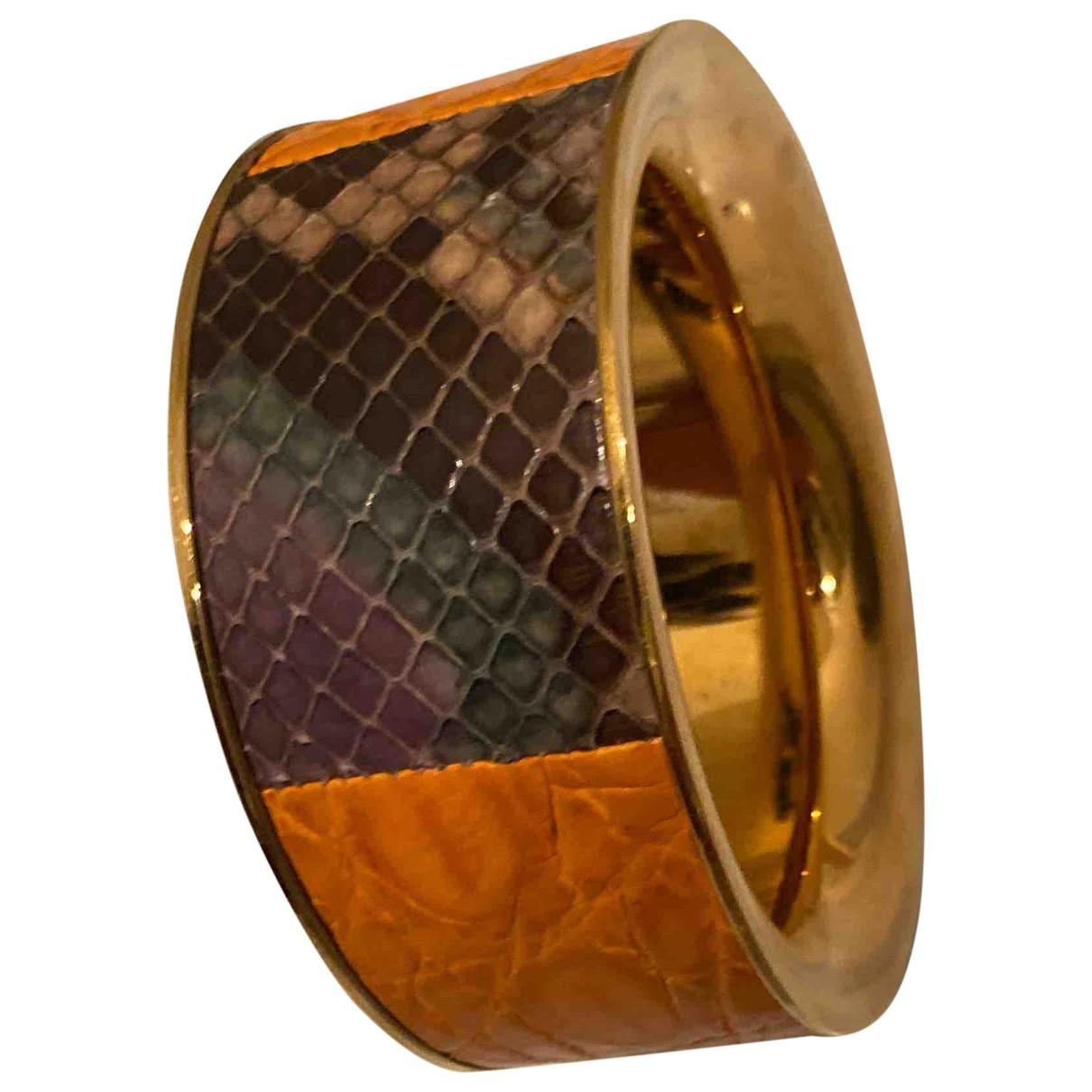 Sergio Rossi - Bracelet   pour femme en cuir - multicolore