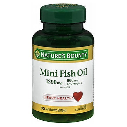 Nature's Bounty Fish Oil Omega-3 24 X 90 Mini Softgels by Nature's Bounty