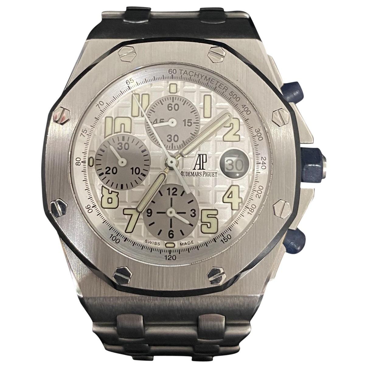 Audemars Piguet Royal Oak Offshore Uhr in  Silber Stahl