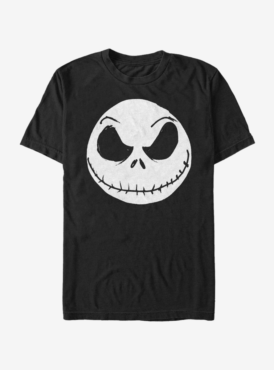 Disney The Nightmare Before Christmas Big Face Jack T-Shirt