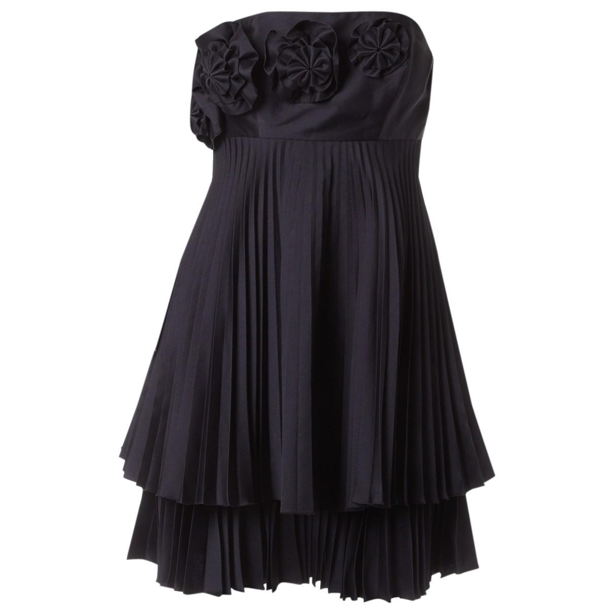 Erdem \N Kleid in  Marine Polyester
